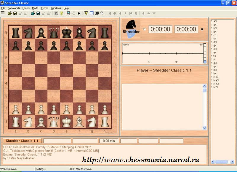 the Collection of free chess programs  To download chess